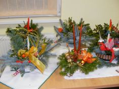Ikebany vianoce 2008