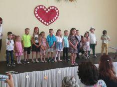 Vystúpenie detí MŠ Lackovce